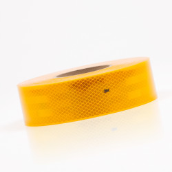 Bande prismatique jaune