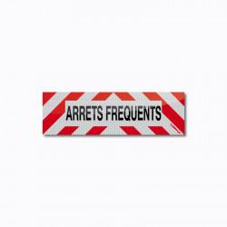 Bandeau ARRETS FREQUENTS 50 x 15 cm