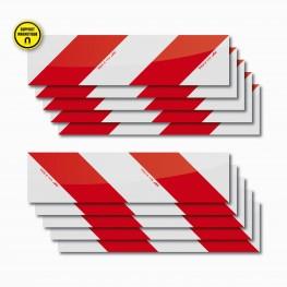 Sachet ECO 10 bandes magnétiques 56 x 14 cm