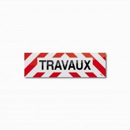 Bandeau TRAVAUX 50 x 15 cm