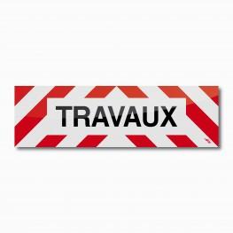 Bandeau TRAVAUX 100 x 30 cm