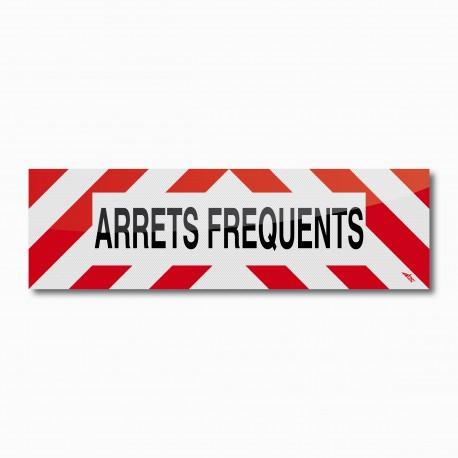 Bandeau ARRETS FREQUENTS 100 x 30 cm