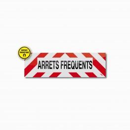 Bandeau ARRETS FREQUENTS magnétique 50 x 15 cm