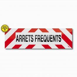 Bandeau ARRETS FREQUENTS magnétique 100 x 30 cm